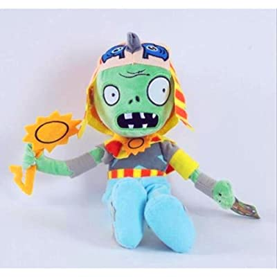 PLANTS vs. ZOMBIES Children Plush Soft Toy Kids Gift Soft Plush Teddy Toys Dolls Egyptian zombie: Toys & Games