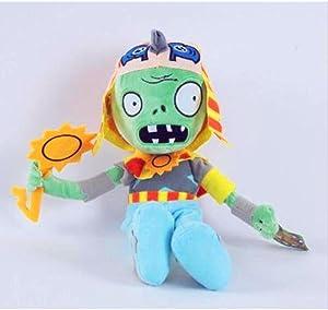 PLANTS vs. ZOMBIES Children Plush Soft Toy Kids Gift Soft Plush Teddy Toys Dolls Egyptian zombie