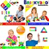 61dl8tvPrfL. SS100  - 163 Piece STEM Toys Kit, Educational Construction Engineering Building Blocks Learning Set for Ages 3 4 5 6 7 8 9 10…