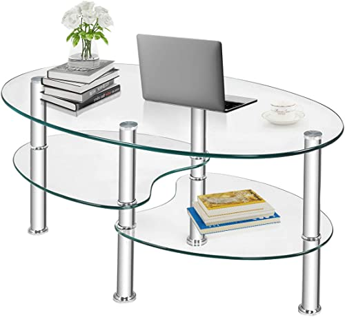 Safstar Glass Coffee Table