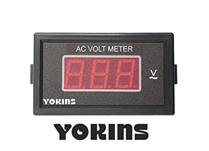 Ac Voltmeter Wiring Diagram on