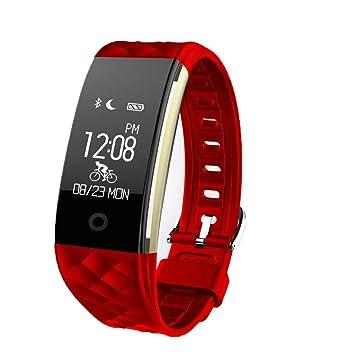 Reloj inteligente Zimingu S2 - Cardiofrecuencímetro - Cuentapasos - Mensaje de notificación - Mando a distancia - Vibración de alarma - Impermeable ...