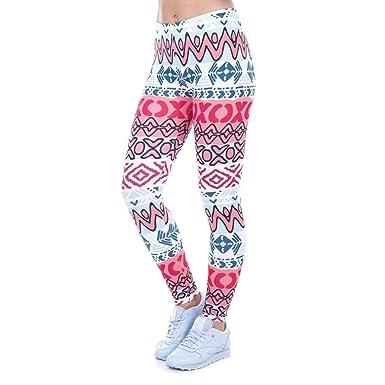 Pingrog Pantalones De Yoga Cintura Alta Nuevo Legging con ...