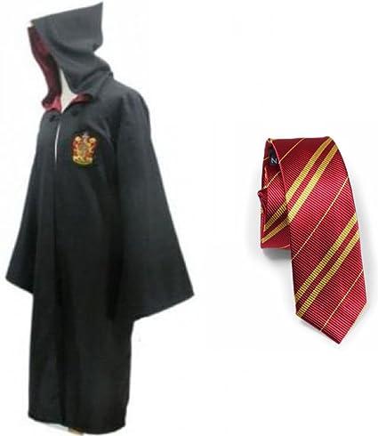 bh+ Harry Potter Juvenil del traje adulto con el lazo Capa ...