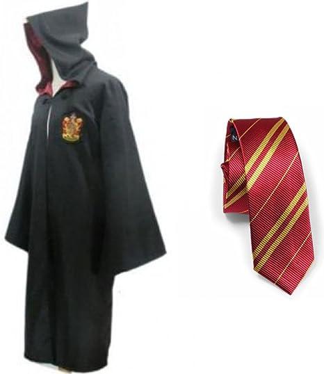 bh+ Harry Potter Juvenil del traje adulto con el lazo Capa de ...