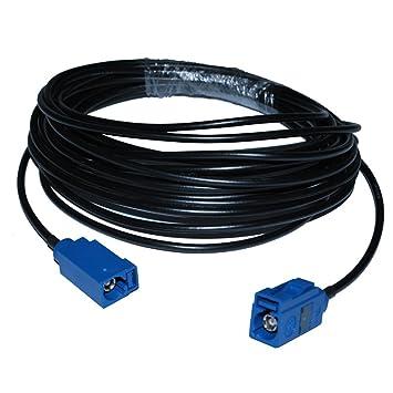 """16.5 ft RF Coaxial Cable Asamblea Cable eléctrico Fakra """"C"""" jack a Fakra"""