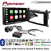 Volunteer Audio Pioneer AVH-W4400NEX Double Din Radio Install Kit with Wireless Apple CarPlay, Android Auto, Bluetooth Fits 2007-2009 Dodge Sprinter 2010-2012 Mercedes-Benz Sprinter