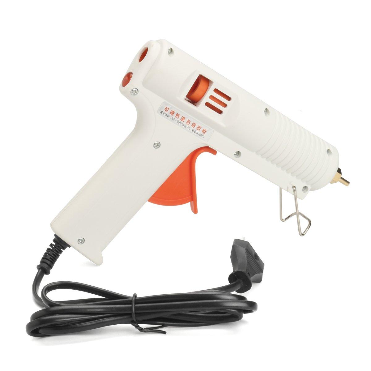 150W Hot Melt Glue Gun High Power Fast Heat Temperature 100-240V Adjustable EU Plug