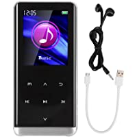 Bluetooth 4.0 HiFi Sound USB2.0 Interface MP3 Player, Portable MP4 Player, for Travel Sports(32GB)