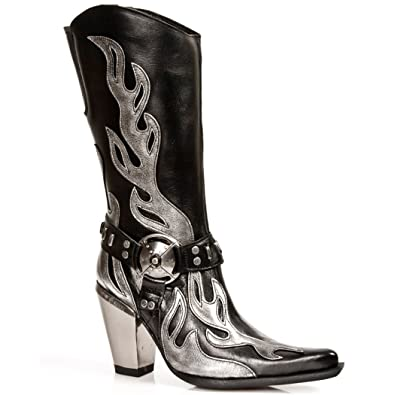NEWROCK NR M.7901 S2 Black - New Rock Boots - Womens