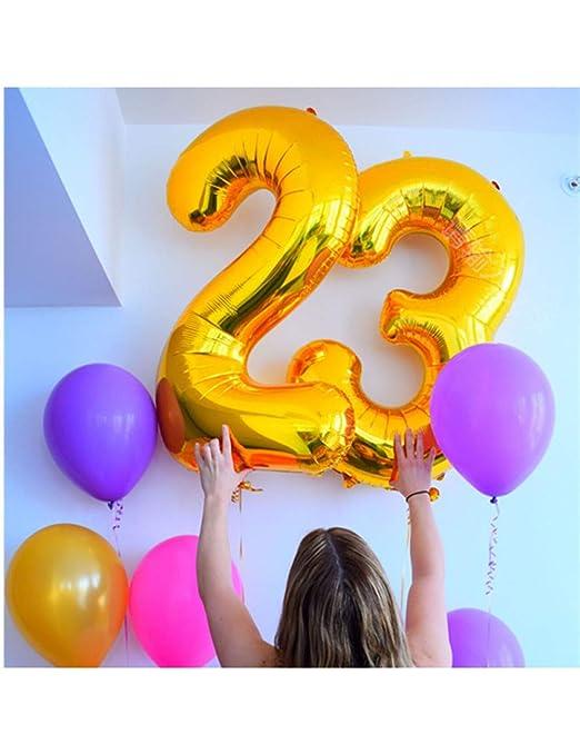WSJQQ 2 Unids 32/40 Tamaño Grande Número 23 Años De Edad ...