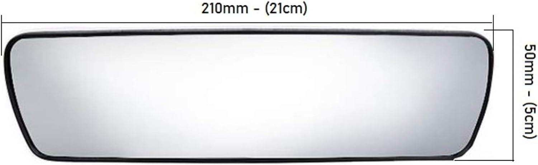 21x5cm GADLANE Auto R/ückspiegel Auto Innen Innensaugnapf Weitwinkel Verstellbar Kinder R/ückspiegel Auto Lerner Fahrlehrer 210 X 50mm
