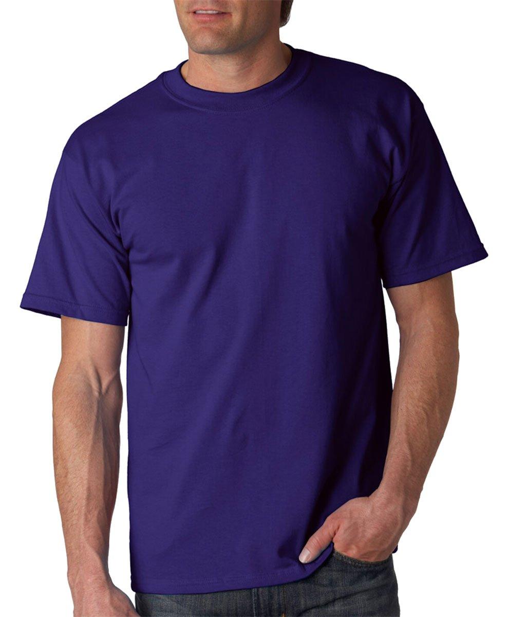 Gildan Men's Ultra Cotton Crewneck T-Shirt, Purple, XXXXX-Large