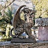 Design Toscano Argos Gargoyle Sentinel Sculpture For Sale