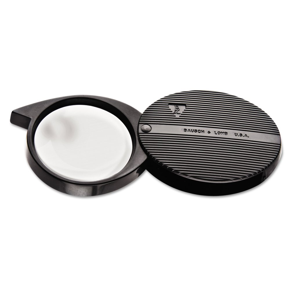 Bausch & Lomb 4X Folded Pocket Magnifier, 36mm Diameter Lens (812354)