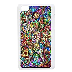 Characters Disney Stained Glass Cute Design for iPod Touch 4 Case ATR064315