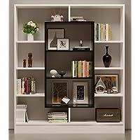 HOMIDEA Venus Bibliothèque - Étagère de Rangement - Étagère pour Livres - Étagère pour Bureau/Salon par Le Design Moderne