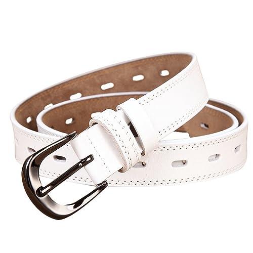 WanYang Clásico Mujeres Cinturón De Piel Moda Accesorios De Ropa Para Cinturones De Hebilla