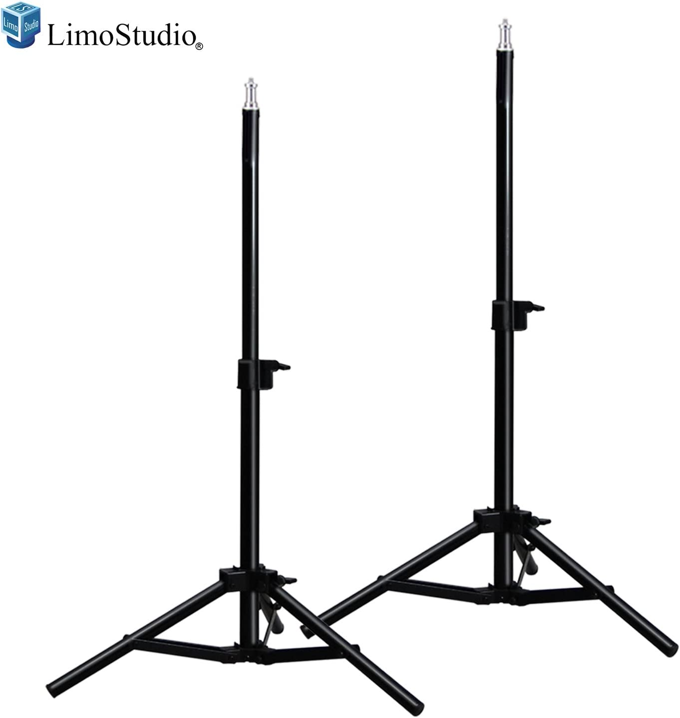 2-Pack Limostudio Thick and Sturdy for Photo Video Studio AGG2658 28-inch Height Adjustable Photography Light Stand Tripod