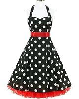 50er Jahre Rockabilly-Kleid INKLUSIVE PETTICOAT - Chloe