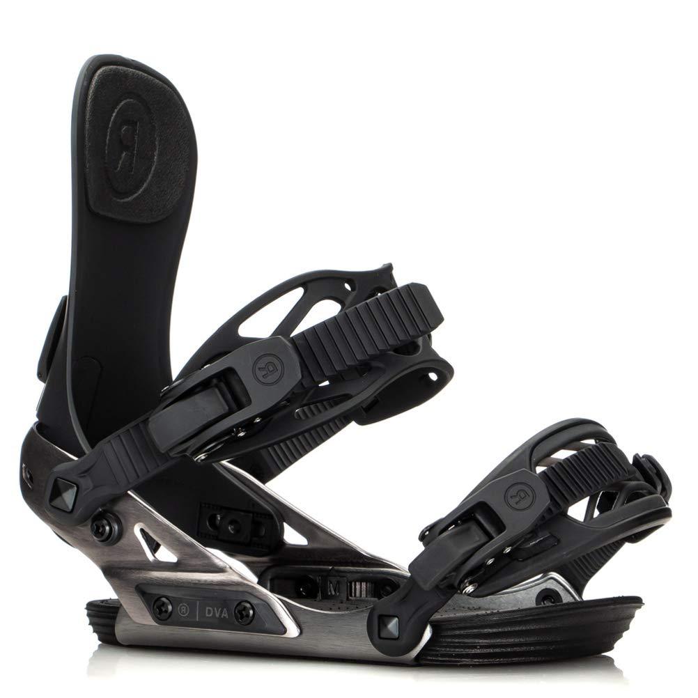 Ride DVA スノーボードビンディング 2020 レディース ガンメタル Small