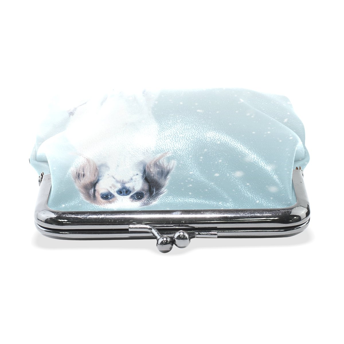 Coin Purse Art Nature Animal Wallet Buckle Clutch Handbag For Women Girls Gift