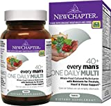 Men's Multivitamin, New Chapter Every Man's One Daily 40+, 72 ct