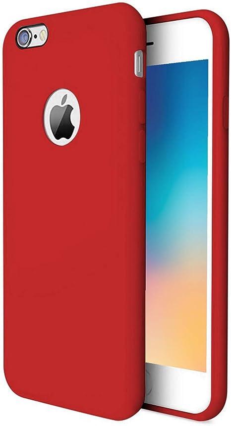 custodia iphone 6s rossa