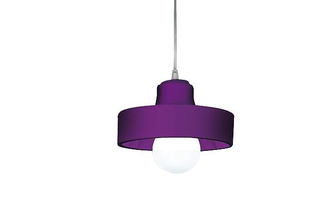 Beware andrea lampadario con cavo bianco viola