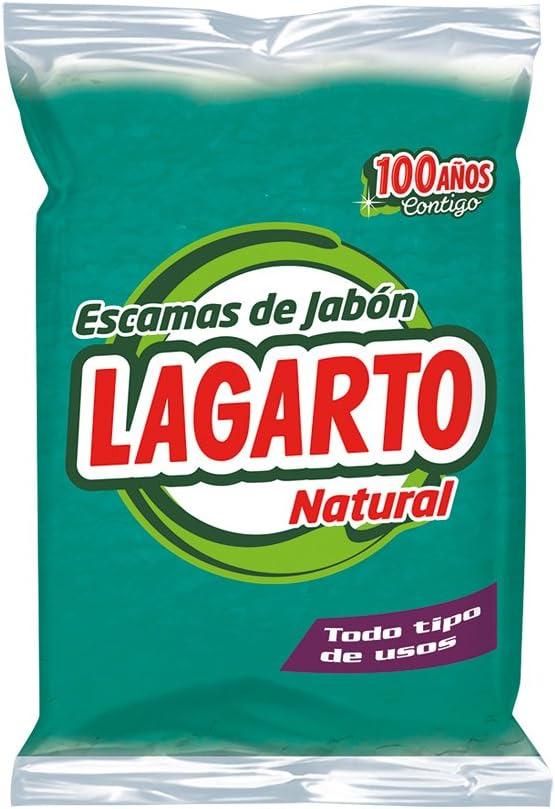 Lagarto Escamas de Jabón Natural Verde - Paquete de 12 x 250 gr ...