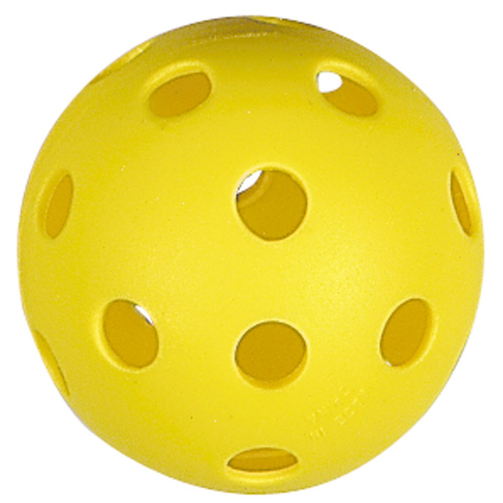 Markwort Baseball Pliable Plastic Balls in Retail Package, Yellow, 9-Inch by Markwort