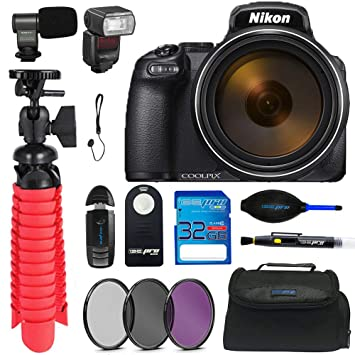 Amazon.com: Nikon Coolpix P1000 16.7 - Cámara digital con ...