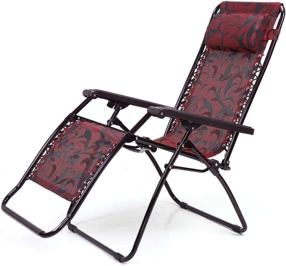Amazon Com Office Chair Beach Chair Folding Paint Red Casual Lunch Break White Collar Home Kitchen