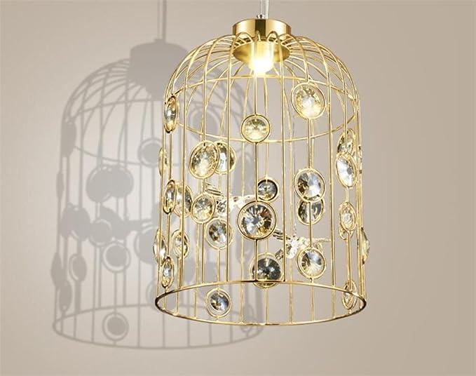 Amazon.com: Lucky clover-a lámpara de techo Birdcage araña ...