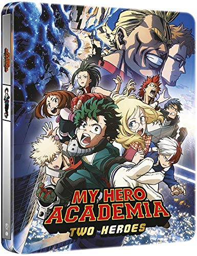 Amazon Com My Hero Academia Two Heroes Steelbook Blu Ray Movies Tv