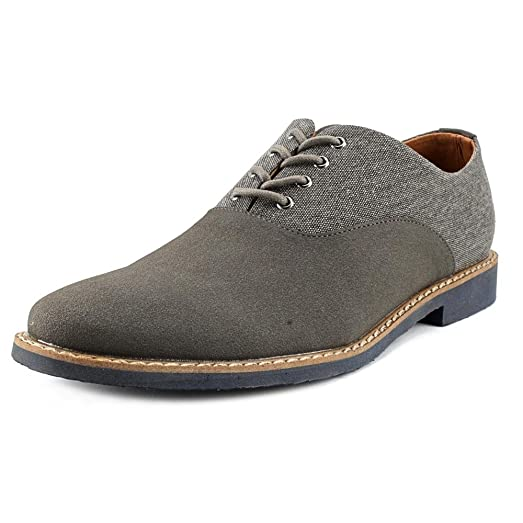 Coawen Grey Oxfords Mens Casual Shoes Size 10.5 New