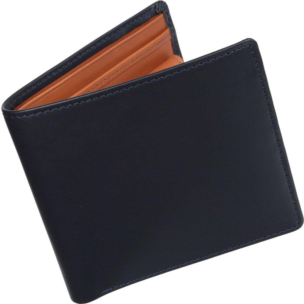 ホワイトハウスコックス(Whitehouse Cox) DerbyCollection S7532 二つ折り財布 【正規販売店】 B00PJO91FW ネイビー/タン ネイビー/タン