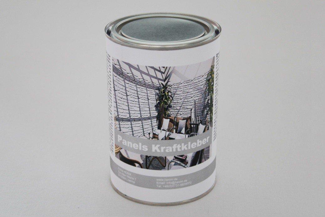 1 kg Spezialkleber fü r 3D Wandpaneele Paneele Platten, Panels Kraftkleber HEXIM