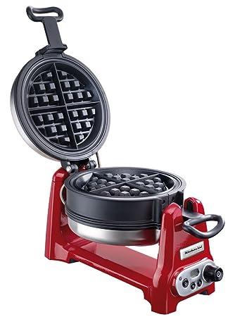 kitchenaid 5kwb100er artisan waffle baker red - Kitchen Aid Waffle Makers