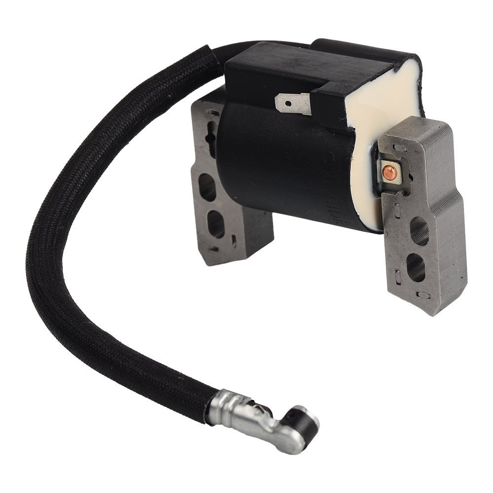 ouyfilters New Ignition Coil with 491588/ 491588S Air Filter Spark Plug for Briggs /& Stratton Motores Replace 695711/ 802574/ 493237/ 796964/ 492416