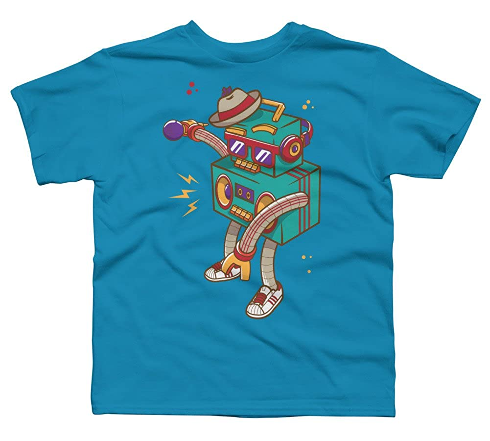 Rapbot Boys Youth Graphic T Shirt Design By Humans