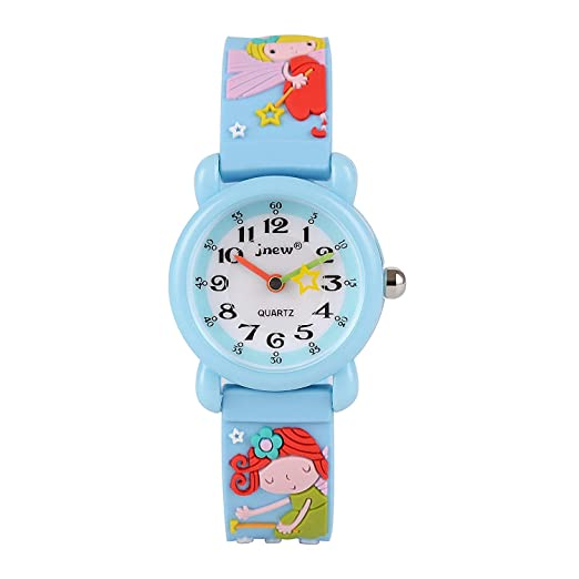 WINNEG Infantiles Relojes Deportivo Impermeable 3D Reloj de Pulsera de Dibujos Animados Lindo para Niños Niñas