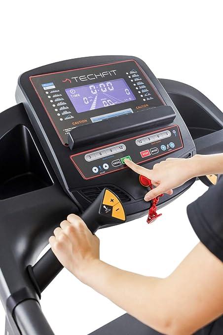 TechFit 4RUN Cinta de Correr Eléctrica Plegable, 2.0 HP, 15 ...