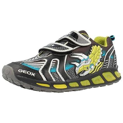 Geox Shuttle B A, Baskets Basses Garçon: