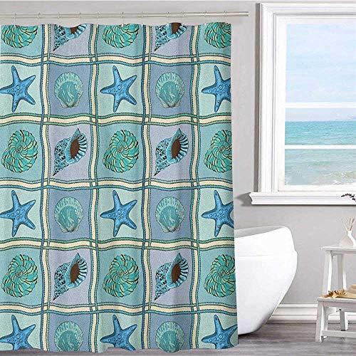 Bathroom fabric shower curtain 72