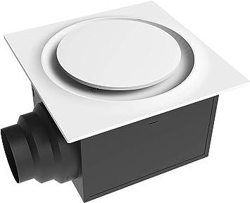 Aero Pure ABF110 G16 W ABF110G16 - Soporte de techo para ventilador de baño (110 CFM, certificación Energy Star, silencioso), color blanco: Amazon.es: Bricolaje y herramientas