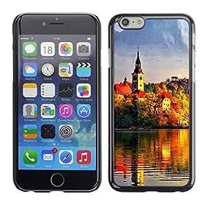Paccase / SLIM PC / Aliminium Casa Carcasa Funda Case Cover - Sunset Beautiful Nature 95 - Apple Iphone 6