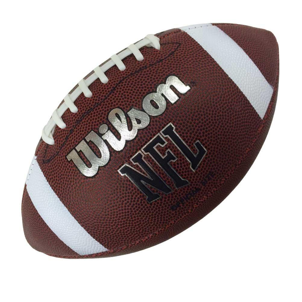Wilson NFL Officiel MDT Motif football américain Wilson Sport WTF 1858 JJX