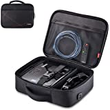 """Projector Case, Projector Travel Carrying Bag Internal Dimension 14.5""""x10.6""""x3.9"""" with Adjustable Shoulder Strap & Compartmen"""