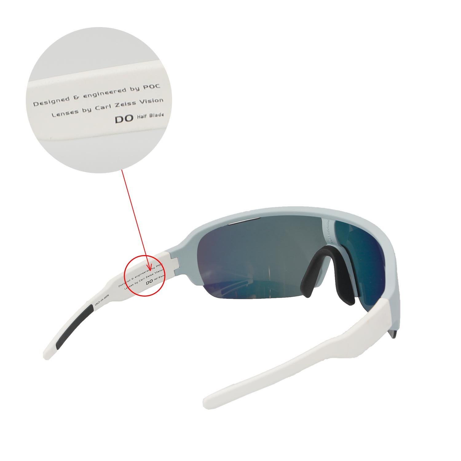 781fc165dfa Amazon.com  Walleva Replacement Lenses for POC Half Blade Sunglasses -  Multiple Options Available (Black - Polarized)  Clothing